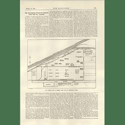 1922 The Nottingham Works Of Cammell Laird Plan Description