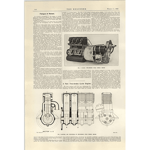 1922 New Two-stroke Cycle Engine