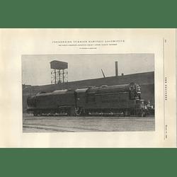 1922 Condensing Turbine Electric Locomotive Ramsay Glasgow