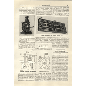 1922 Pump For Powdered Coal Pulco