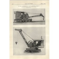 1922 10 Ton Locomotive Breakdown Crane Bedford Engineering