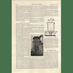1922 Verity Reinforced Concrete Gas Producer