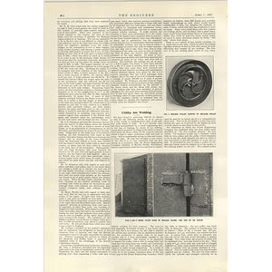 1922 Utility Arc Welding Building Up Machines Strengthening