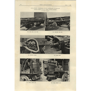 1922 Six Ton Under Type Steam Wagon Richard Garrett 3