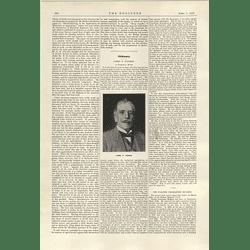 1922 James Paxman Obituary