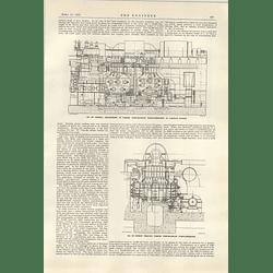 1922 Parson's Newcastle Turbo Generator Carrville Powerstation