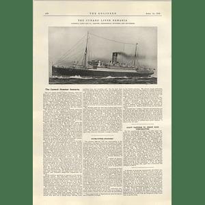 1922 The Cunard Liner Samaria Cammell Laird