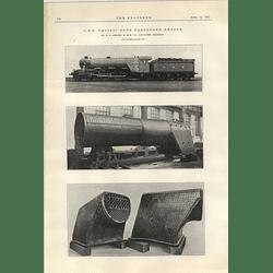 1922 Gnr Pacific Type Passenger Engine Gresley Doncaster
