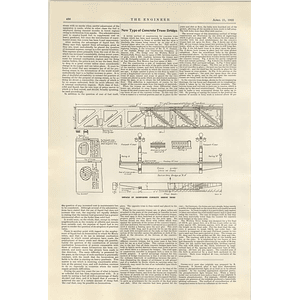 1922 New Type Of Concrete Truss Bridge Wichita Falls Texas 1