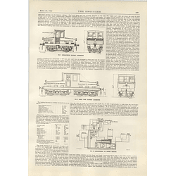 1922 Battery Locomotives For Industrial Shunting Yards