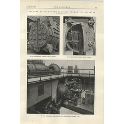 1922 Hick Hargreaves Condensing Plants For Powerstation