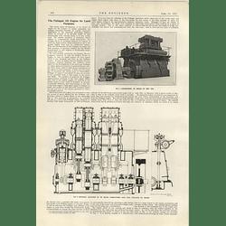 1922 Fullagar Oil Engine For Land Purposes