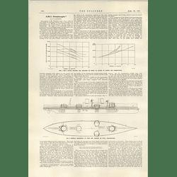 1922 Hms Dreadnought Jh Narbeth Paper