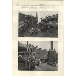 1922 Sleeper Creosote Plant For East Africa