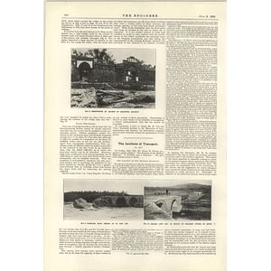 1922 Flood Problem China Drainage System Shantung Railway Po Shang
