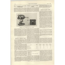 1922 Instructional Motor Gyroscope For Hong Kong University