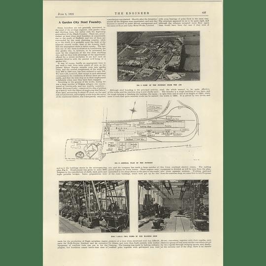 1922 Steel Foundry Letchworth Garden City Locomotive Wheels Kryn Lahy 2