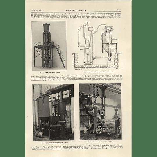 1922 Foundry Trades Alldays Onions Ritchie Hart Foundry Floor Dresser