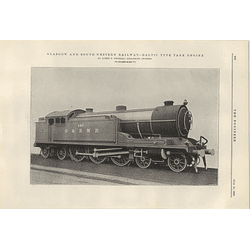 1922 Glasgow South-west Railway Baltic Type Tank Engine