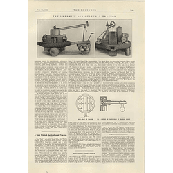 1922 L'Hermite Agricultural Tractor