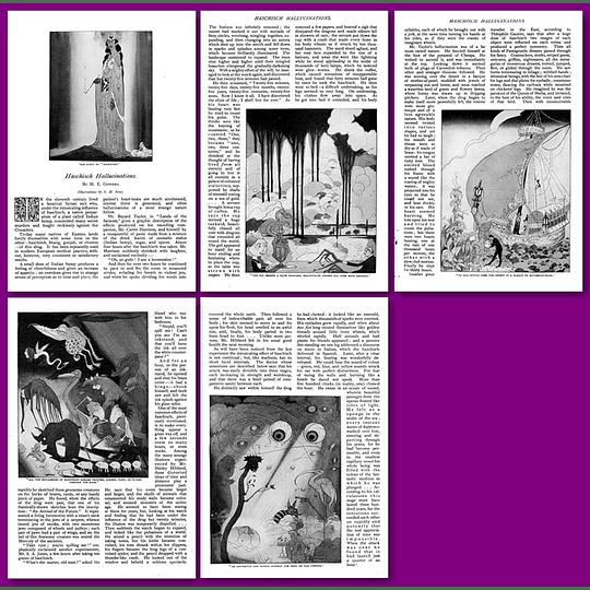 Hashish Hallucinations in 1905