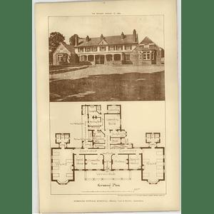 1904 Exmouth Cottage Hospital, Tate Harvey Architects