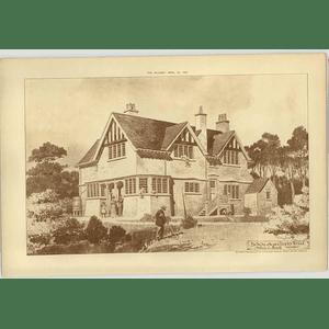 1904 Bungalow At Chorleywood, Arthur Breeds Architect