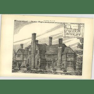 1904 Framewood Stoke Poges Design, Plan