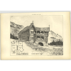 1904 Villa At Guardamunt St Moritz Engadine Inigo Triggs