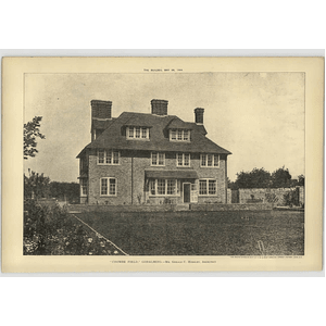 1904 Coombe Field Godalming Gerald Horsley Architect