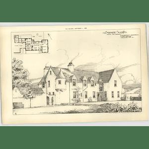 1906 Linkside, Nairn From The Garden Davidson Architect