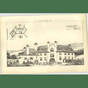 1906 House At Nairn, Ho Davidson Design Plan