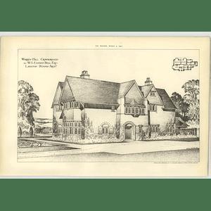 1906 Warren Hill, Crowborough Wl Lynden Bell Esq Design Plan