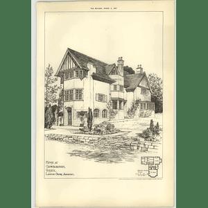 1907 House At Crowborough Sussex, Langton Dennis Architect