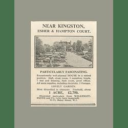 1936 Well-planned House Retired Position Near Kingston Esher, £2750