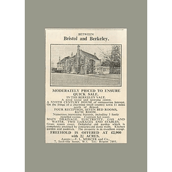 1936 17th-century House Between Bristol And Berkeley, 3 Acres, £2900