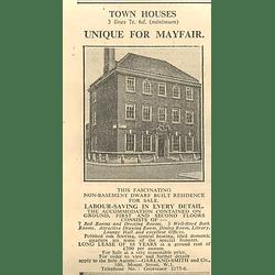 1936 Unique Mayfair Home, 7 Bedrooms, Dwarf Built Residence, 7 Bedrooms