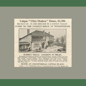 1936 Unique Ultramodern House Close  Ridge Woldingham, 5 Bedrooms £2300