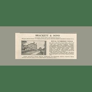 1936 Aulderwood, Hungershall Park, Tunbridge Wells 9 Beds, 1 Acre,