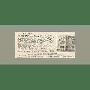 1936 Staverton Builders, Totnes, Devon Coast Homes From £750
