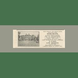1936 Hook Heath Six Bedrooms, 2 1/2 Acres, £3750