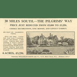 1936 The Pilgrims Way, Glorious Views 9 Bedrooms 6 Acres £3250