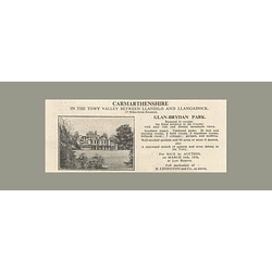 1936 Towy Valley, Glan-brydan Park, 20 Bedrooms 94 Acres