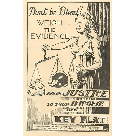 1936 Do Justice To Your Income In A Key Flat, London
