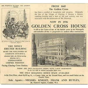 1936 Golden Cross House, Progressive Modern Office Construction