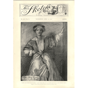 1905 Miss Ellen Terry New Play Alice Sit By The Fire