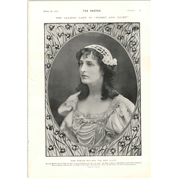 1905 Miss Evelyn Millard New Juliet
