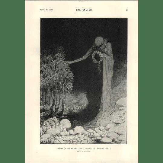 1905 Sh Sime Creepy Cartoon And Fortune Gm Payne Literary Misfit