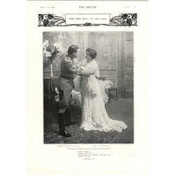 1905 Her Own Way Lyric Theatre Charles Cherry Maxine Elliott
