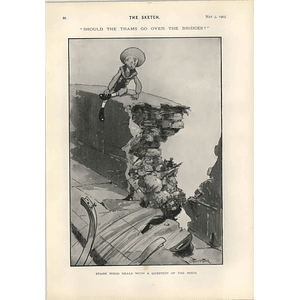 1905 Starr Wood Cartoon